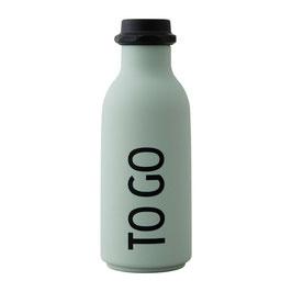 DESIGN LETTERS ToGo Wasserflasche hellgrün