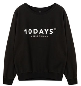 10DAYS - THE SWEATER schwarz