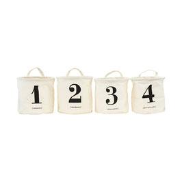 Housedoctor Aufbewahrungskörbchen 1-2-3-4 (SET)