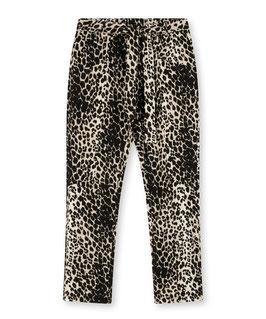 ♥NEU♥ 10DAYS - High Waist Jogger Leopard