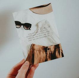 """Postkarte """"Kraft, Liebe & Besonnenheit"""""""