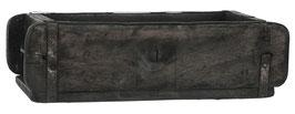 IB LAURSEN Kiste Ziegelform klein schwarz