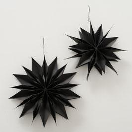 Faltstern schwarz (2 Varianten)