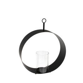 Storefactory Kerzenhalter HOLMEN (schwarz)
