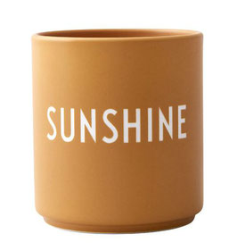 DESIGN LETTERS Becher SUNSHINE