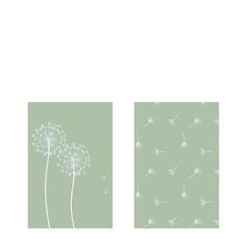 STOREFACTORY Streichhölzer MASKROS (Pusteblume) grün