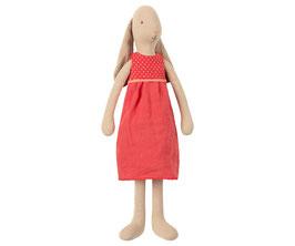 MAILEG Mädchenhase im roten Kleid