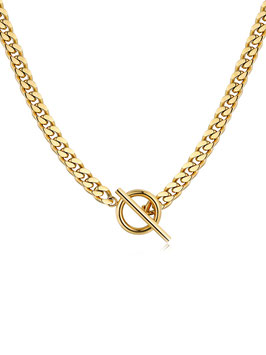 ICRUSH Chunky Kette (Gold)