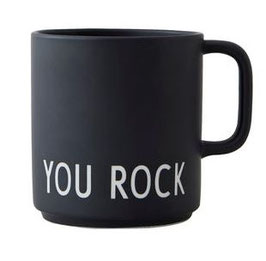 DESIGN LETTERS Tasse YOU ROCK