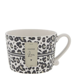 BASTION COLLECTION Tasse Leopard COFFEE LOVE