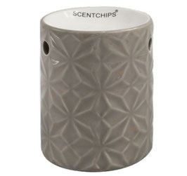 SCENTCHIPS Brenner mit Muster taupe