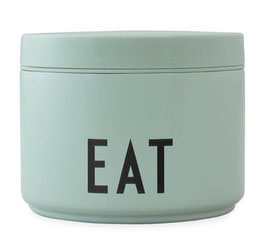 DESIGN LETTERS Thermo LUNCH BOX EAT small grün