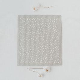 EULENSCHNITT Schwammtücher Punkte grau (3 Stück)