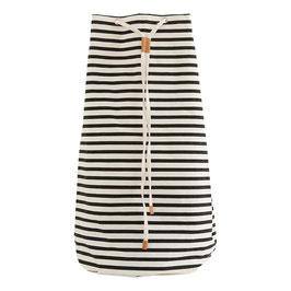 HOUSEDOCTOR Einkaufsbeutel Stripes weiß/schwarz