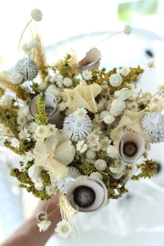 Trockenblumen-Strauß Fantasia bleached