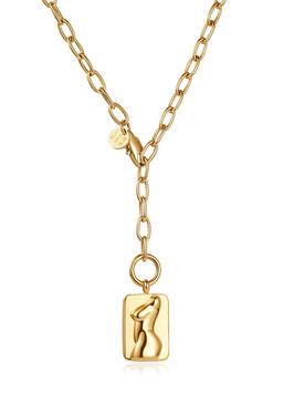 ICRUSH Curvy Kette Gold