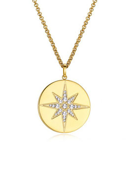 ICRUSH Ethereal Kette Gold