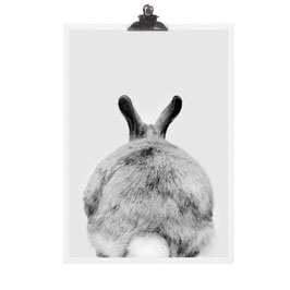 "TAFELGUT Poster ""Rabbit"" (2 Größen)"