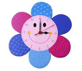 Kinderzimmeruhr Lachende Blume