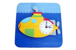 """Orologio a parete con effetto 3D """"sommergibile"""""""