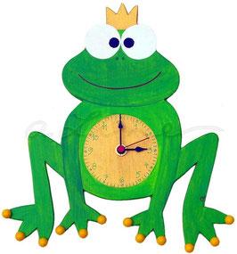 """Kinderzimmeruhr """"Froschkönig"""""""