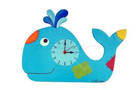 Orologio a parete balena
