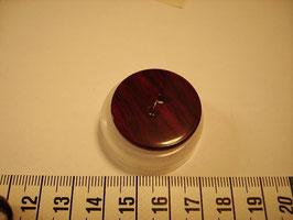 Knopf 2 Loch 28mm kbr5