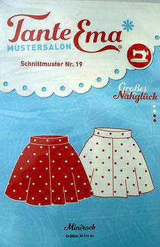 TANTE EMA SCHNITTMUSTER Nr.19 Minirock 34-46