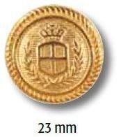 UK-Metallknopf mit Öse 23mm 40181