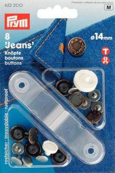 Prym Jeans-Knöpfe 14mm nähfrei