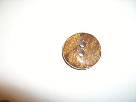 Knopf 2 Loch 23mm kbr3