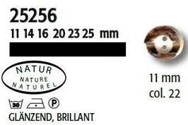UK-Trachtenknöpfe Horn 11mm 25256