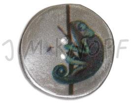 JK Metallknopf Chamäleon 28mm 12655