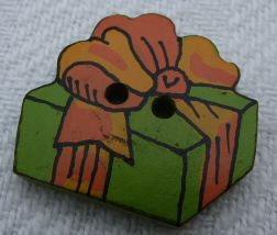 JK Weihnachtsknopf 2 Loch 20mm Päckchen