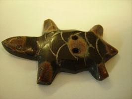 Hornknopf 2 Loch Schildkröte 50mm