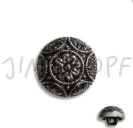 JK Glasknopf mit Öse 15mm 12231