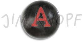 JK Kinderknopf schwarz Buchstabe 16mm 12768