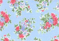 Westfalenstoffe Capri beschichtet/ Blumen-Bouquet