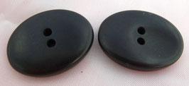 UK Knopf schwarz oval 233459