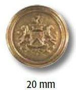 UK-Metallknopf mit Öse 20mm 15282