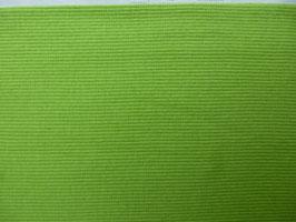 Bündchenstrick maigrün von Hilco /Rippenbündchen / Paket 2 mit 0,50 cm