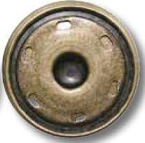 UK-Metall Druckknopf zum Annähen 15 mm Art. Nr. 0059217