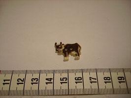Trachtenknöpfe Kunststoff Kuh klein 20mm
