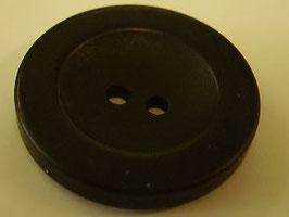 Knopf 2 Loch 22mm schwarz Kschw 38