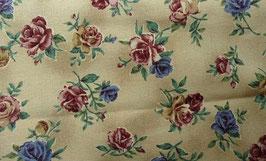 """""""Vintage Rosen """" auf beigem Grund,110 cm breit"""