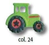UK-Knopf mit Öse  Traktor 23mm 46994