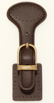 Lederschließe/ Taschenverschluss mit Magnetkopf Prym 416485