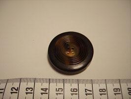 Knopf 4 Loch mit Rillenstruktur 35mm ak7