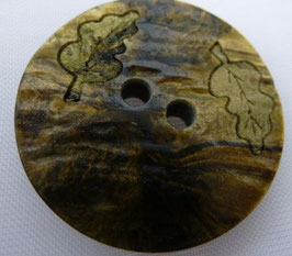 UK Knopf 2 Loch mit Struktur 28mm kn34