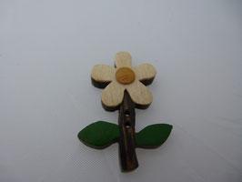 JK Holzknopf Blume 2 Loch  30mm
